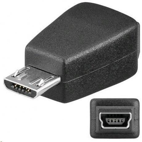 PREMIUMCORD Redukce USB 2.0 Mini B - Micro B (F 5pin/M)