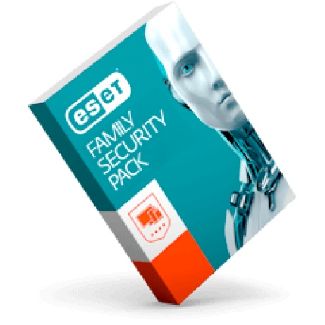 Antivirus ESET Family Security Pack, 3PC + 3 mobilní zařízení, 1rok, EFSP003N1