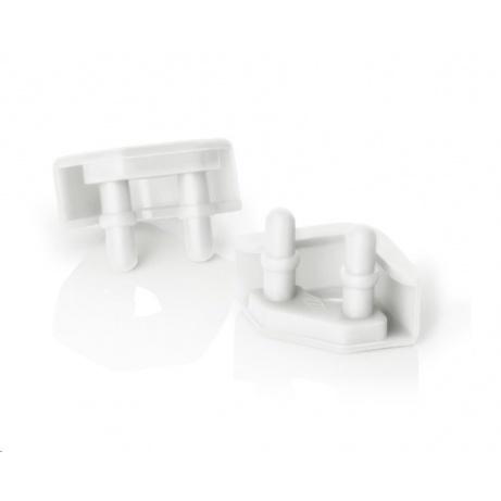 NOCTUA NA-SAVP5.white - sada 16 ks proti vibračních podložek pro ventilátory, bílá