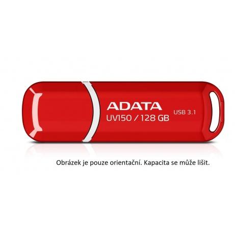 ADATA Flash Disk 16GB USB 3.1 Dash Drive UV150, červený (R: 90MB/s, W: 20MB/s)