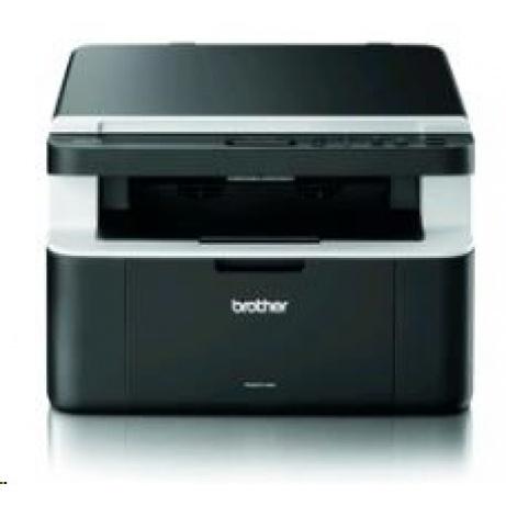 BROTHER multifunkce laserová DCP-1512E A4, A4 sken, 20ppm, 16MB, 600x600copy, GDI, USB, černá