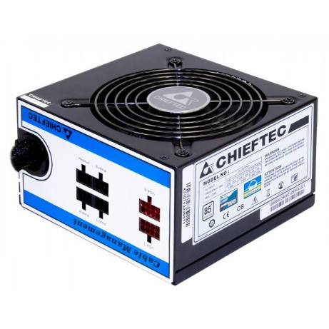CHIEFTEC zdroj A80 Series, CTG-550C, 550W, 12cm fan, Active PFC, Modular, Retail, 85+