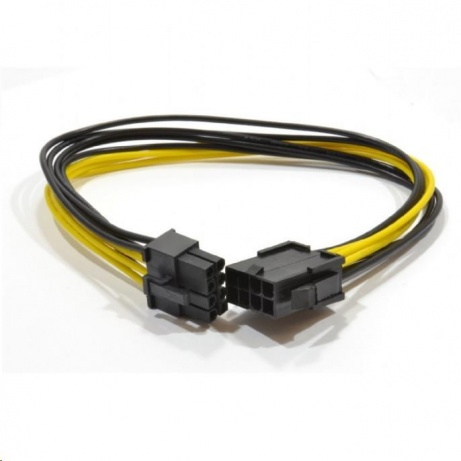 GEMBIRD Kabel CABLEXPERT prodloužení PCI express 8pin (6+2), 30cm