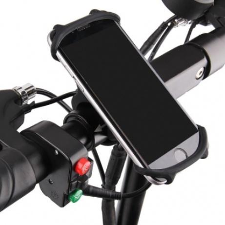 """Univerzální Silikonový držák mobilu na kolo 4.5-6"""""""