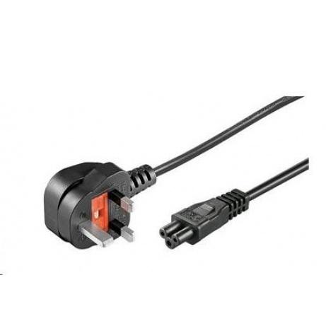 PREMIUMCORD Kabel napájecí 230V/10A, přímý pro Velkou Británii, 2m