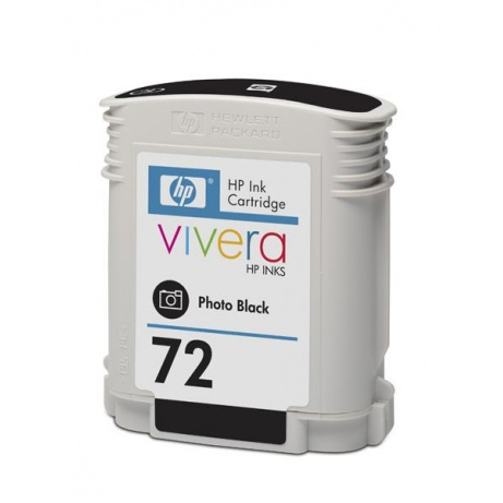 HP 72 Black photografic DJ Ink Cart, 69 ml, C9397A