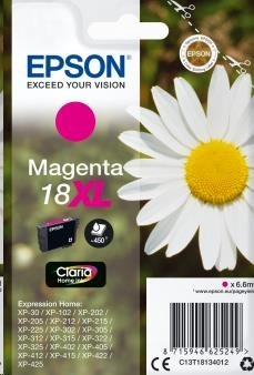 EPSON ink bar Singlepack Magenta 18XL Claria Home Ink