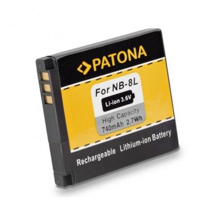 Patona akumulátor CANON NB-8L, 740mAh